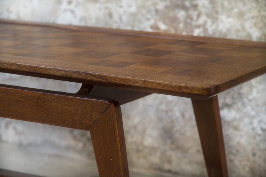 Tavolino da caffè in legno anni '60