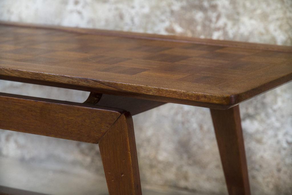 Tavolino da caff in legno modernariato anni 60 8 7 for Tavolino anni 60 design