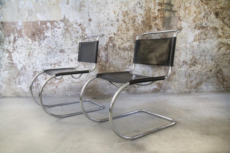 Sedie MR10 di Ludwig Mies van der Rohe