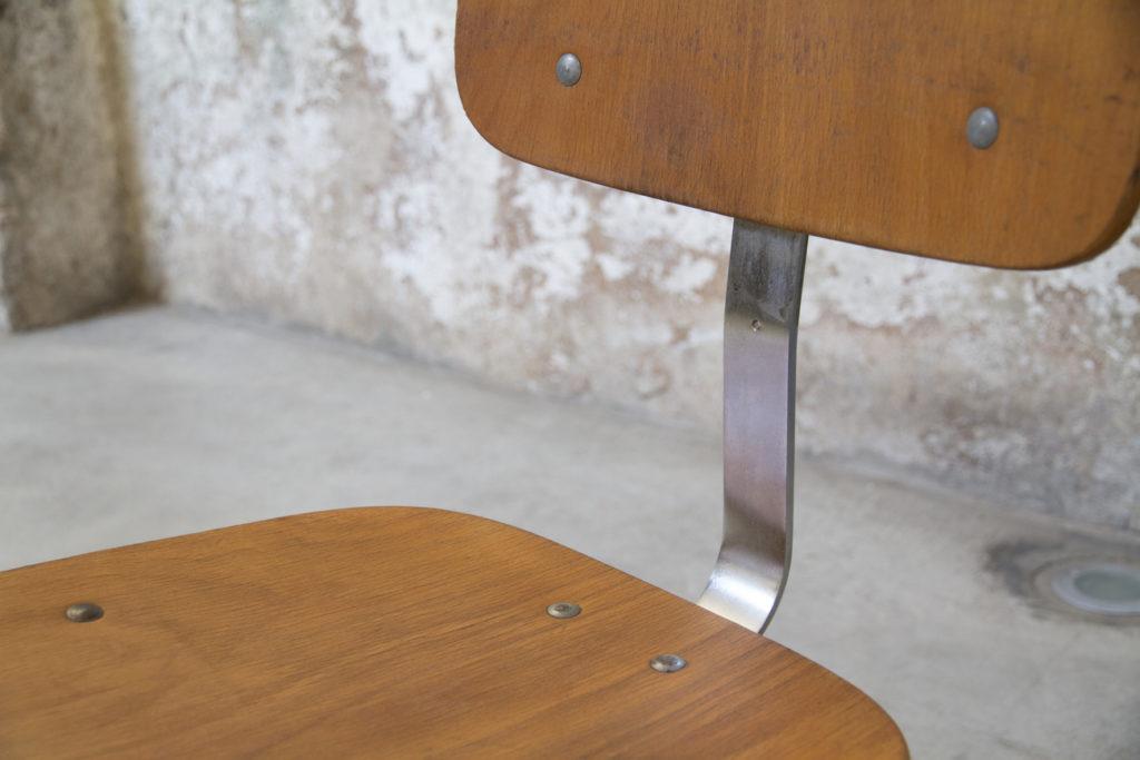 Sedie vintage in legno di Velca Legnano