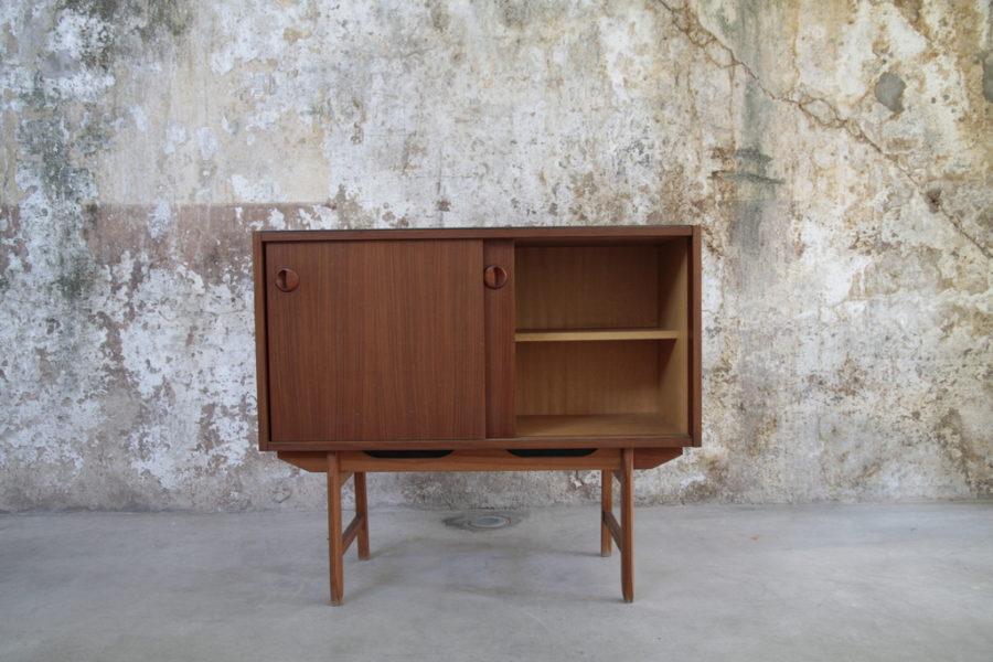 Mobiletto Mid-Century stile scandinavo, anni '60